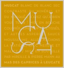 Etiquette Muscat blanc de blanc Sec