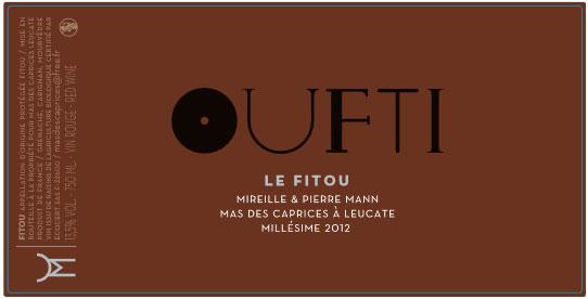 Nouvelle étiquette Oufti 2012