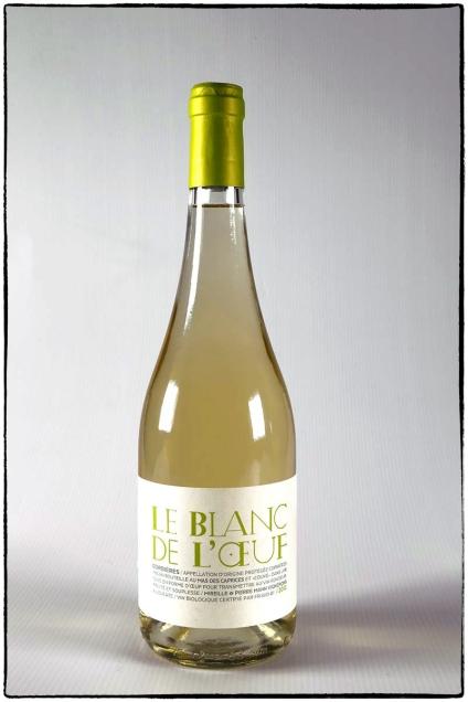 MAS DES CAPRICES, vin blanc Bio le BLANC DE L'OEUF