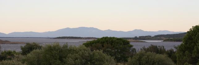 vue du Pic du Canigou depuis nos vignes à Leucate - Mas des Caprices @Fudji Studio
